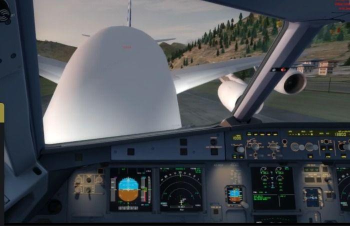 A380 colide com A320 em Paro, Sim Paro Butan