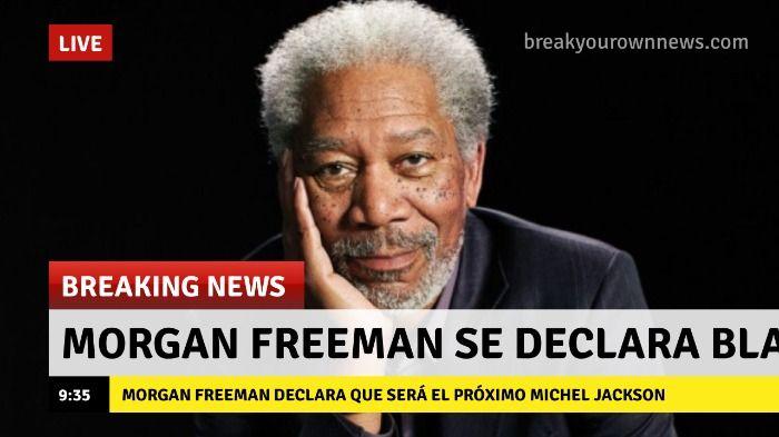 Morgan freeman se declara blanco