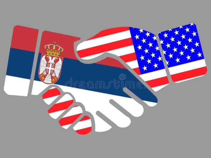 Odnosi SAD-a i Srbije sve bolji