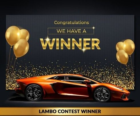 Macon Georgia Man wins 2021 Lamborghini Aventador