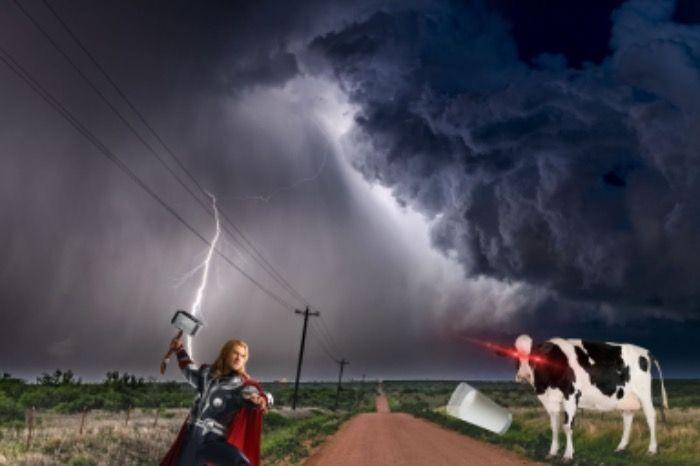 Thor Vs Vaca