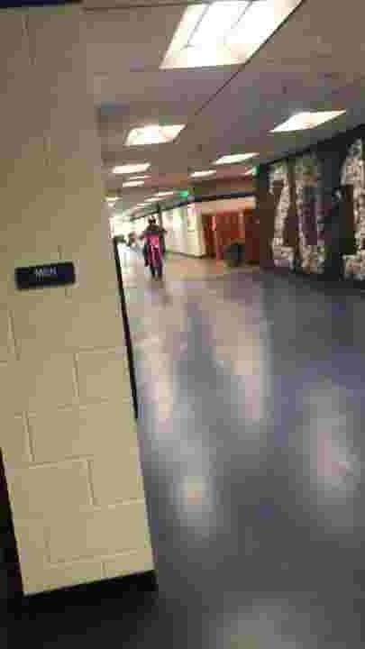 11th grader rides dirtbike through school and causes $1'000 in damage